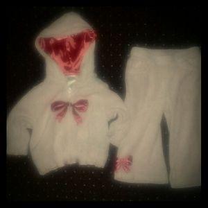 Gymboree pink sweat suit size 12 - 18 mos.